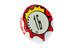 SIGMA SPORT MySpeedy ajotietokone , punainen/valkoinen